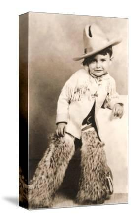 Little Boy in Cowboy Outfit