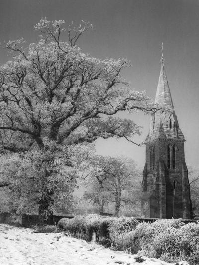 Little Brington Winter--Photographic Print