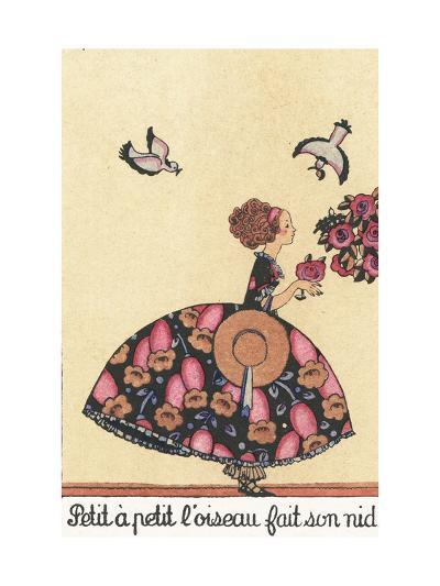 Little by Little, the Bird Builds its Nest--Giclee Print