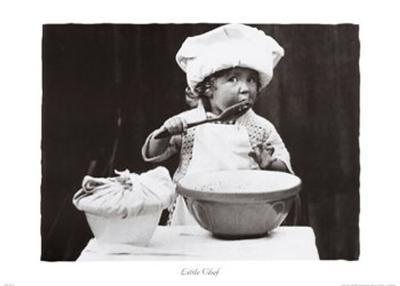 Little Chef--Art Print