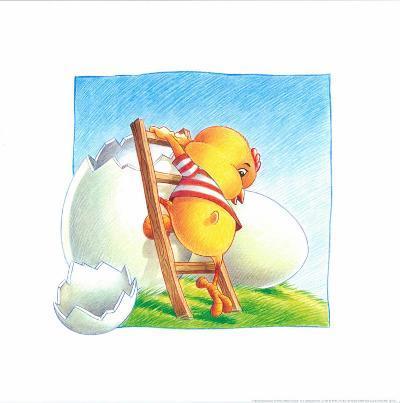 Little Chicken-Urpina-Art Print