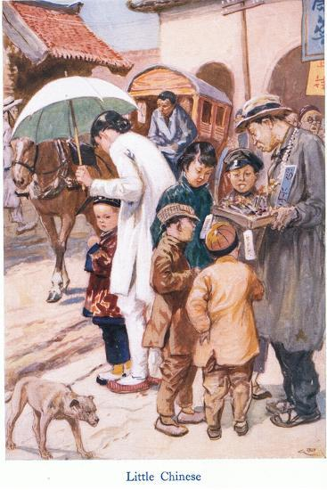 Little Chinese-Gordon Frederick Browne-Giclee Print