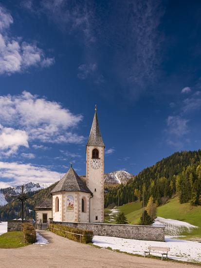 Little Church At San Vito-Michael Blanchette Photography-Photographic Print