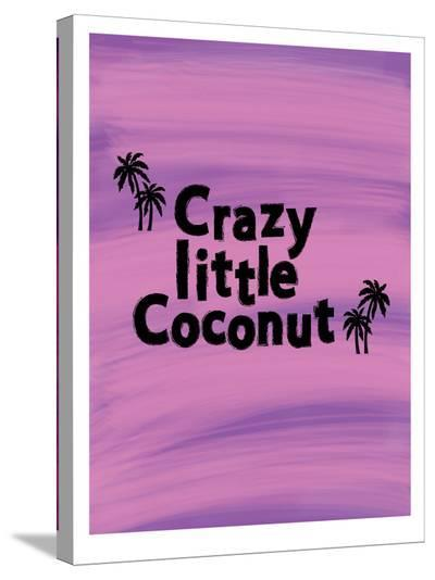 Little Coconut-Ashlee Rae-Stretched Canvas Print