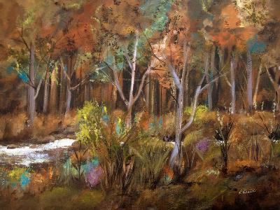 Little Creek Down In The Woods-Ruth Palmer-Art Print