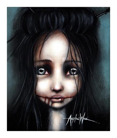 Little Dahlia-Angelina Wrona-Art Print