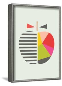 Geometric Apple by Little Design Haus