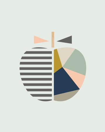 Scandi Apple by Little Design Haus