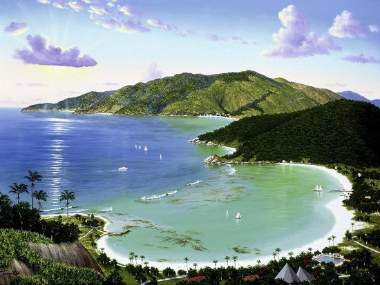 Little Dix Bay - Virgin Islands-Eduardo Camoes-Giclee Print