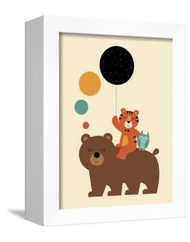 Little Explorer-Andy Westface-Framed Premier Image Canvas