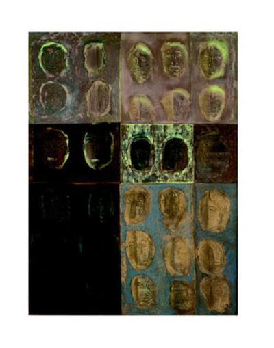 Little Faces, c.1998-Sonia Lawson-Art Print