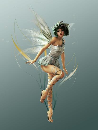 Little Fairy-Atelier Sommerland-Art Print