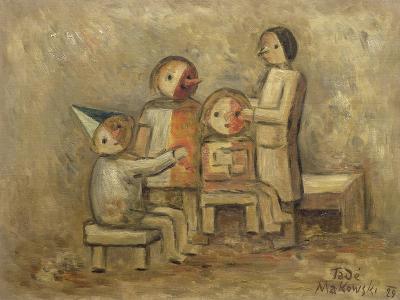 Little Family, 1929-Tadeusz Makowski-Giclee Print