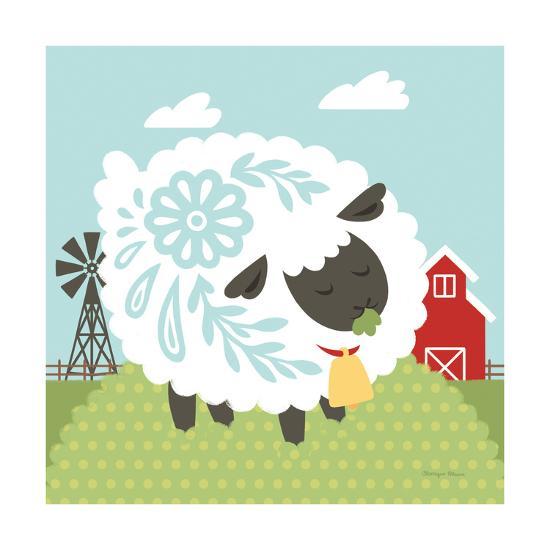 Little Farm I-Cleonique Hilsaca-Art Print