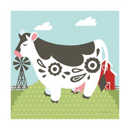 Little Farm IV-Cleonique Hilsaca-Art Print