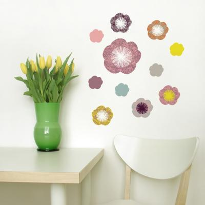 Little Garden Solstice Flowers Wall Decal--Wall Decal