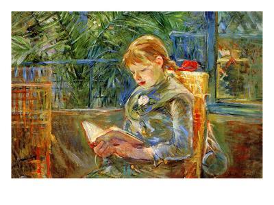 Little Girl-Berthe Morisot-Art Print