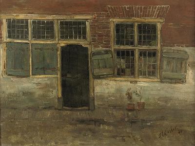 Little Houses, Leiden, 1881-Floris Verster-Giclee Print
