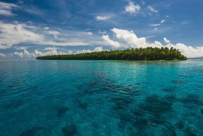 Little Islet in the Ant Atoll, Pohnpei, Micronesia, Pacific-Michael Runkel-Photographic Print