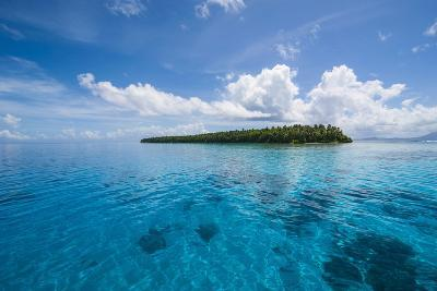 Little Islet in the Ant Atoll, Pohnpei, Micronesia-Michael Runkel-Photographic Print