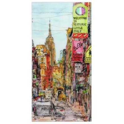 Little Italy - Free Floating Tempered Glass Wall Art