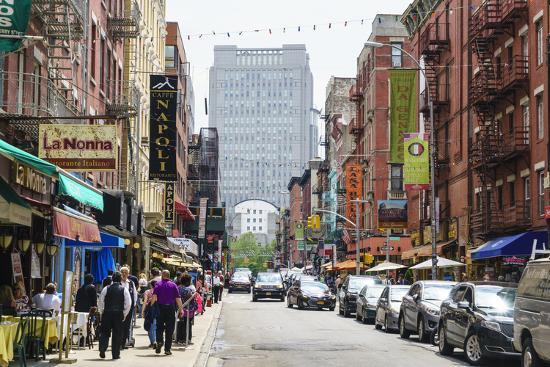 Little Italy, Manhattan, New York City, United States of America, North America-Fraser Hall-Photographic Print