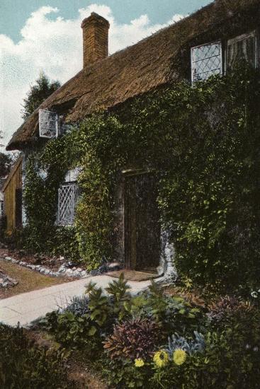 Little Jane's Cottage, Brading--Photographic Print