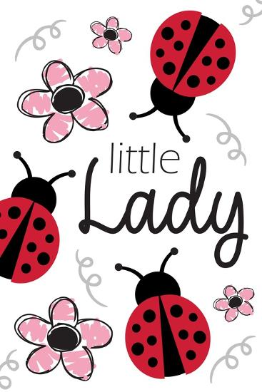 Little Lady-ND Art-Art Print