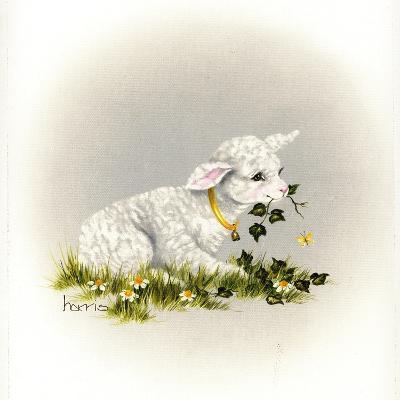 Little Lambsy Divey-Peggy Harris-Giclee Print