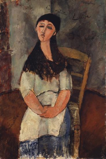 Little Louise, 1915-Amedeo Modigliani-Giclee Print