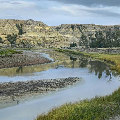 Little Missouri River, Theodore Roosevelt National Park, North Dakota-Tim Fitzharris-Photographic Print