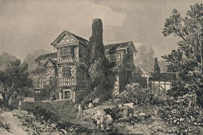 Little Moreton Hall, Cheshire, 1915-HL Pratt-Giclee Print