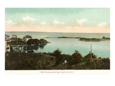 Little Narragansett Bay, Watch Hill, Rhode Island--Art Print