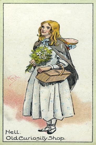Little Nell, from 'The Old Curiosity Shop', by Charles Dickens, 1923-Joseph Clayton Clarke-Giclee Print