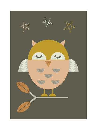 Little Owl-Little Design Haus-Giclee Print