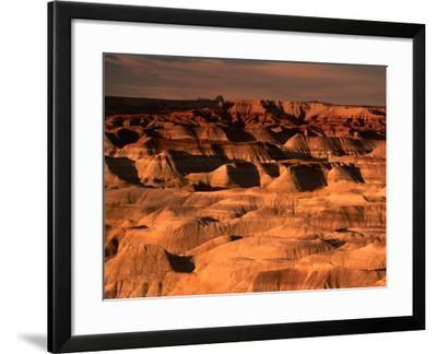 Little Painted Desert County Park, Arizona, USA-Mark Newman-Framed Photographic Print