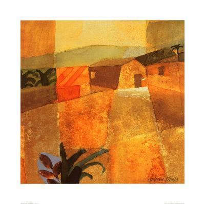Little Palm Trees-K^ H^ Grob-Art Print