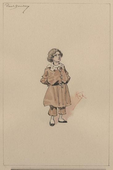 Little Paul Dombey, c.1920s-Joseph Clayton Clarke-Giclee Print