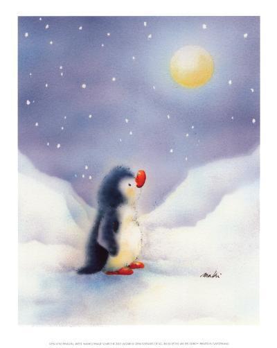 Little Penguin-Makiko-Art Print