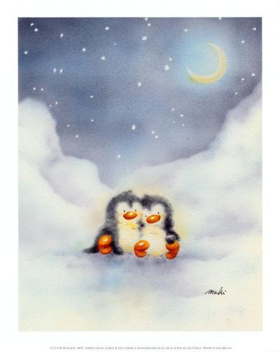 Little Penguins-Makiko-Art Print