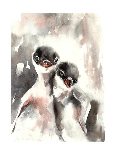 Little Penguins-Sophia Rodionov-Art Print