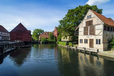Little Pond in the Old Town, Aarhus, Denmark-Michael Runkel-Photographic Print