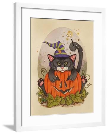 Little Pumpkin-Linda Ravenscroft-Framed Giclee Print