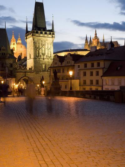 Little Quarter Bridge Tower, Little Quarter, Prague, Czech Republic-Martin Child-Photographic Print