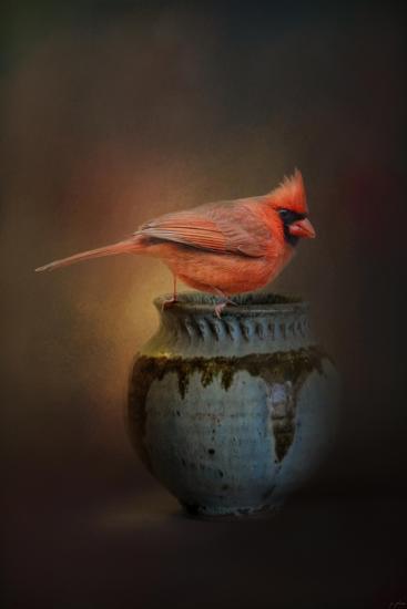 Little Red Guardian-Jai Johnson-Giclee Print