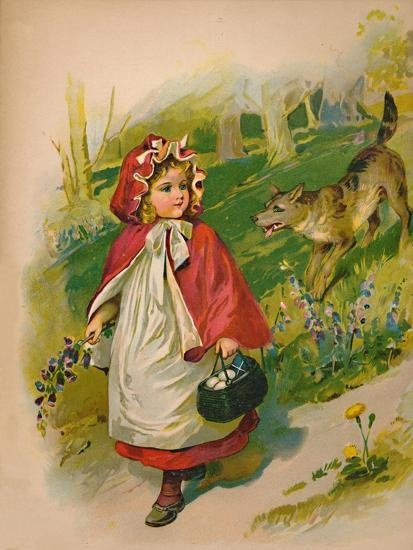 'Little Red Riding Hood', 1903-Unknown-Giclee Print