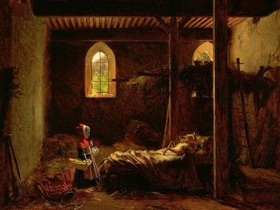 Little Red Riding Hood, c.1820-Fleury Francois Richard-Giclee Print