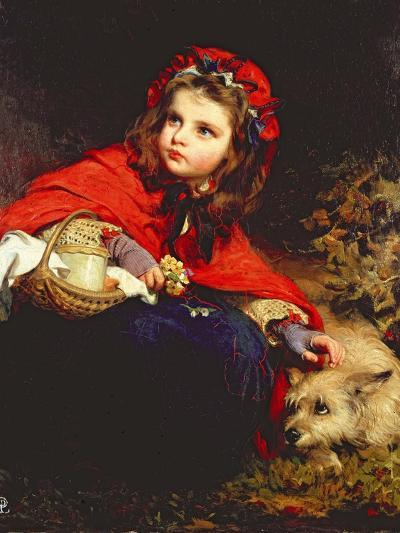 Little Red Riding Hood-James Sant-Giclee Print