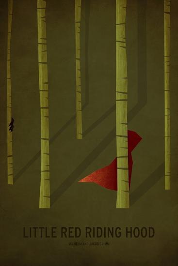 Little Red Riding Hood-Christian Jackson-Art Print