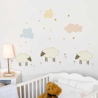 Little Sheeps Wall Decal--Wall Decal